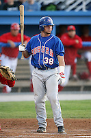September 3, 2009:  Sean Ochinko (38) of the Auburn Doubledays during a game at Dwyer Stadium in Batavia, NY.  Auburn is the Short-Season Class-A affiliate of the Toronto Blue Jays.  Photo By Mike Janes/Four Seam Images