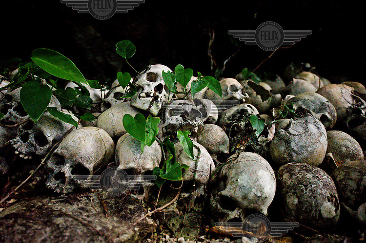 The skull cave of the ancestors from Nuakata Island.