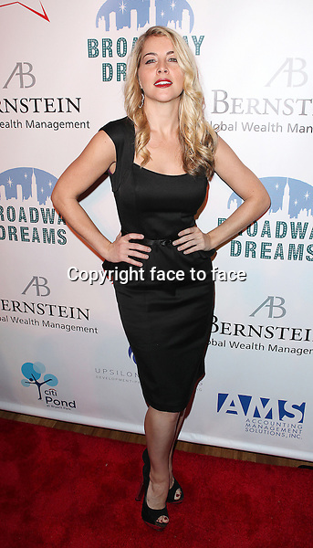 "Morgan James attending the Broadway Dreams Foundation's ""Champagne & Caroling Gala"" at Celsius at Bryant Park, New York, 10.12.2012...Credit: McBride/face to face"
