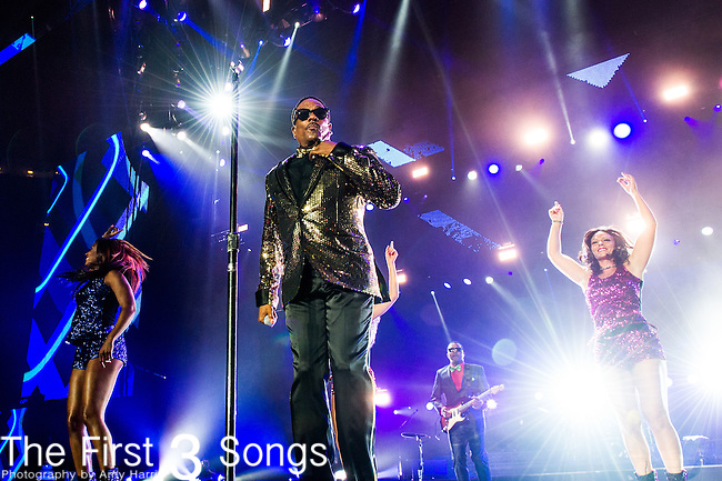 Charlie Wilson performs at the 2014 Essence Festival at the Mercedes-Benz Superdome in New Orleans, Louisiana.