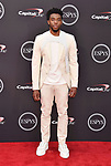 LOS ANGELES, CA - JULY 18: Chadwick Boseman attends the 2018 ESPYS at Microsoft Theater at L.A. Live on July 18, 2018 in Los Angeles, California.