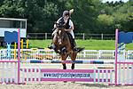 Class 7. 80cm. Unaffiliated showjumping. Brook Farm Training Centre. Essex. 06/08/2017. MANDATORY Credit Garry Bowden/Sportinpictures - NO UNAUTHORISED USE - 07837 394578