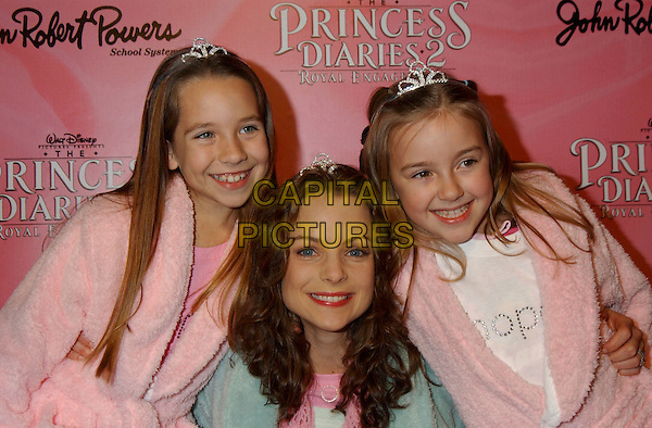 TAYLOR ATELIAN, KIMBERLY WILLIAMS-PAISLEY & BILLI BRUNO.The Princess Diaries 2 DVD Pajama Ball benefiting St. Jude Children's Research Hospital held at the Beverly Hilton Hotel, Beverly Hills, California, USA, .8th December 2004..portrait headshot.Ref: ADM.www.capitalpictures.com.sales@capitalpictures.com.©L.Farr/AdMedia/Capital Pictures .