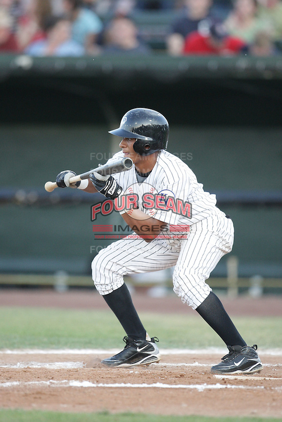 August 11, 2009: Angel Franco of the Idaho Falls Chukars. The Chukars are the Pioneer League affiliate for the Kansas City Royals. Photo by: Chris Proctor/Four Seam Images