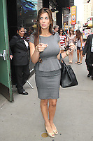 NEW YORK CITY, NY - August 07, 2012: Siggy Flicker at Good Afternoon America in New York City. © RW/MediaPunch Inc. /NortePhoto.com<br /> <br /> **SOLO*VENTA*EN*MEXICO**<br /> **CREDITO*OBLIGATORIO** <br /> *No*Venta*A*Terceros*<br /> *No*Sale*So*third*<br /> *** No Se Permite Hacer Archivo**<br /> *No*Sale*So*third*
