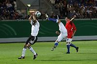 Sidney Sam (D) schuetzt sich vor dem gefaehrlichen Spiel von Jan Lecjaks (TCH)<br /> Deutschland vs. Tschechien, U21 EM-Qualifikation *** Local Caption *** Foto ist honorarpflichtig! zzgl. gesetzl. MwSt. Auf Anfrage in hoeherer Qualitaet/Aufloesung. Belegexemplar an: Marc Schueler, Alte Weinstrasse 1, 61352 Bad Homburg, Tel. +49 (0) 151 11 65 49 88, www.gameday-mediaservices.de. Email: marc.schueler@gameday-mediaservices.de, Bankverbindung: Volksbank Bergstrasse, Kto.: 151297, BLZ: 50960101
