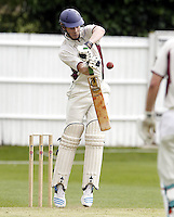 Ed Bird bats for North Middlesex during the ECB Middlesex Premier League game between North Middlesex and Hampstead at Park Road, Crouch End on Saturday May 17, 2014