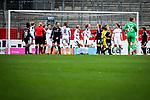 16.03.2019, Stadion Essen, Essen, GER, AFBL, SGS Essen vs TSG 1899 Hoffenheim, DFL REGULATIONS PROHIBIT ANY USE OF PHOTOGRAPHS AS IMAGE SEQUENCES AND/OR QUASI-VIDEO<br /> <br /> im Bild | picture shows:<br /> Kurz vor Abpfiff kommt Cara Boesl (FFC Frankfurt #26) mit nach vorne, da der FFC einen Eckball ausf&uuml;hrt, <br /> <br /> Foto &copy; nordphoto / Rauch