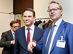 BRUSSELS - BELGIUM - 28 November 2016 -- Inauguration of the Nordic Energy Office. --  (Jyrki Katainen, Vice-president of the European Commission, responsible for Jobs, Growth, Investment and Competitiveness and Anders Stouge, Dansk Energi. -- PHOTO: Juha ROININEN / EUP-IMAGES