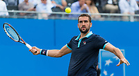 MARIN CILIC (CRO)<br /> <br /> TENNIS - AEGON CHAMPIONSHIPS - QUEEN'S CLUB - ATP - 500 - BARON'S COURT, LONDON, GB - 2017  <br /> <br /> <br /> &copy; TENNIS PHOTO NETWORK