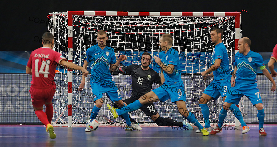 Slobodan Rajcevic UEFA Euro 2016 Futsal Evropsko Prvenstvo, Srbija - Slovenija 2.2.1016. Februar 2. 2016. (credit image & photo: Pedja Milosavljevic / STARSPORT)