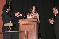 LOS ANGELES - SEP 30:  Alan Carmona, Romina Schwedler, Ron Truppa at the Catalina Film Festival Awards at the Casino on Catalina Island on September 30, 2017 in Avalon, CA