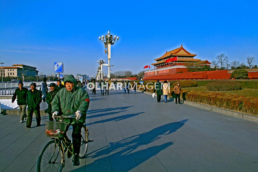 Mausoleu Mao Tse Tung na Praça da Paz Celestial, Pequim, China. 2007. Foto de Flávio Bacellar.