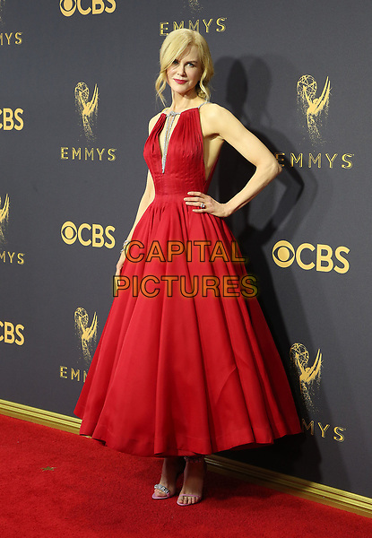 17 September 2017 - Los Angeles, California - Nicole Kidman. 69th Annual Primetime Emmy Awards held at Microsoft Theater. <br /> CAP/ADM/FS<br /> &copy;FS/ADM/Capital Pictures