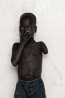 Portrait of an orphan at local orphange, Nimule, Sudan