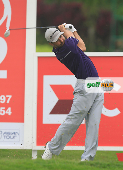 Trevor immelman (RSA) on the 12th tee during Round 3 of the CIMB Classic in the Kuala Lumpur Golf &amp; Country Club on Saturday 1st November 2014.<br /> Picture:  Thos Caffrey / www.golffile.ie