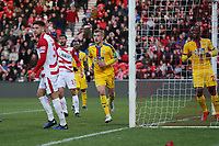 Max Meyer of Crystal Palace celebrates scoring the second goal during Doncaster Rovers vs Crystal Palace, Emirates FA Cup Football at the Keepmoat Stadium on 17th February 2019