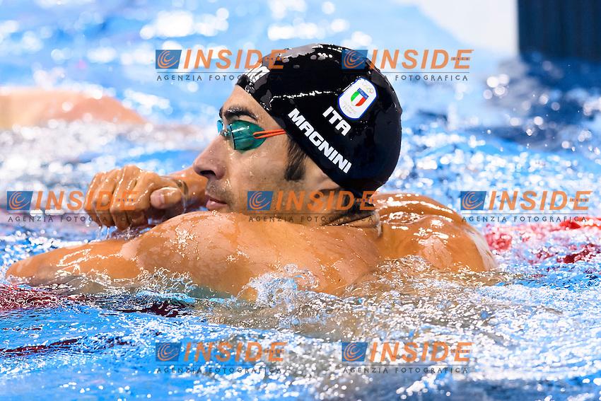 MAGNINI Filippo ITA Men's 100m Freestyle <br /> Rio de Janeiro 09-08-2016 Olympic Aquatics Stadium <br /> Swimming Nuoto <br /> Foto Andrea Staccioli/Deepbluemedia/Insidefoto