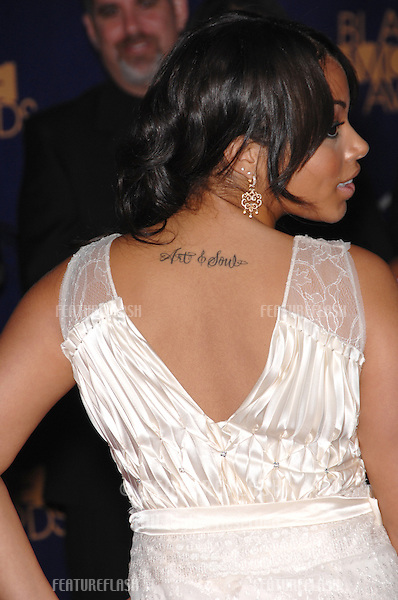 LAUREN LONDON at the 2nd Annual Black Movie Awards in Los Angeles..October 15, 2006  Los Angeles, CA.Picture: Paul Smith / Featureflash