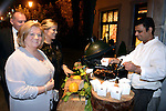 Norrie King and Bernie O'Connor sampling roasted chestnuts as they arrive for the annual Kerry Hoteliers Ball in The Muckross Park Hotel at the weekend. <br /> Photo: Don MacMonagle<br /> <br /> Repro free photo