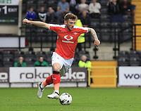 Jordan Cook of Luton Town in action during the Sky Bet League 2 match between Notts County and Luton Town at Meadow Lane, Nottingham, England on 29 October 2016. Photo by Liam Smith / PRiME Media