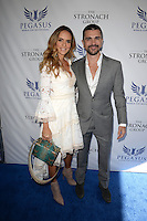 www.acepixs.com<br /> <br /> January 28 2017, Hallandale, FL<br /> <br /> Karen Martinez (L) and Juanes arriving at the Pegasus World Cup at Gulfstream Park on January 28, 2017 in Hallandale, Florida.<br /> <br /> By Line: Solar/ACE Pictures<br /> <br /> ACE Pictures Inc<br /> Tel: 6467670430<br /> Email: info@acepixs.com<br /> www.acepixs.com