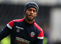 Bolton Wanderers' Mark Little pictured before the match<br /> <br /> Photographer Andrew Kearns/CameraSport<br /> <br /> The EFL Sky Bet Championship - Derby County v Bolton Wanderers - Saturday 13th April 2019 - Pride Park - Derby<br /> <br /> World Copyright &copy; 2019 CameraSport. All rights reserved. 43 Linden Ave. Countesthorpe. Leicester. England. LE8 5PG - Tel: +44 (0) 116 277 4147 - admin@camerasport.com - www.camerasport.com