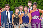 Students at a combined Killarney debs enjoying themselves at the Earl of Desmond Hotel on Thursday night left to right: Chris O Meara, Sarah Slattery, Hayden Coffey, Sophie Smith, killian foley, Neisha Clifton.