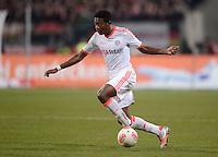FUSSBALL   1. BUNDESLIGA  SAISON 2012/2013   12. Spieltag 1. FC Nuernberg - FC Bayern Muenchen      17.11.2012 David Alaba (FC Bayern Muenchen)