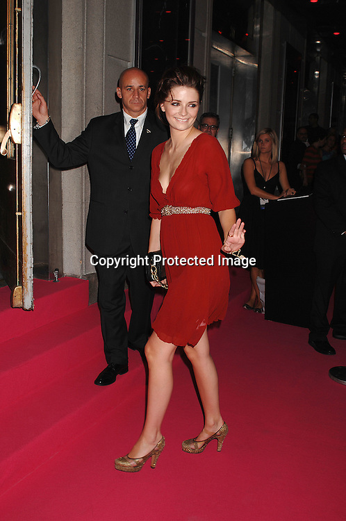 """Mischa Barton..arriving at The Van Cleef & Arpels """"Une Journee a Paris"""" party to celebrate the beginning of Fashion Week on September 4, 2007 at The Hammerstein Ballroom. ..Photo by Robin Platzer, Twin Images....212-935-0770"""