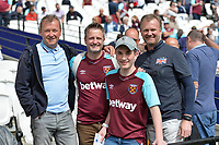 West Ham fans during West Ham United vs Everton, Premier League Football at The London Stadium on 13th May 2018