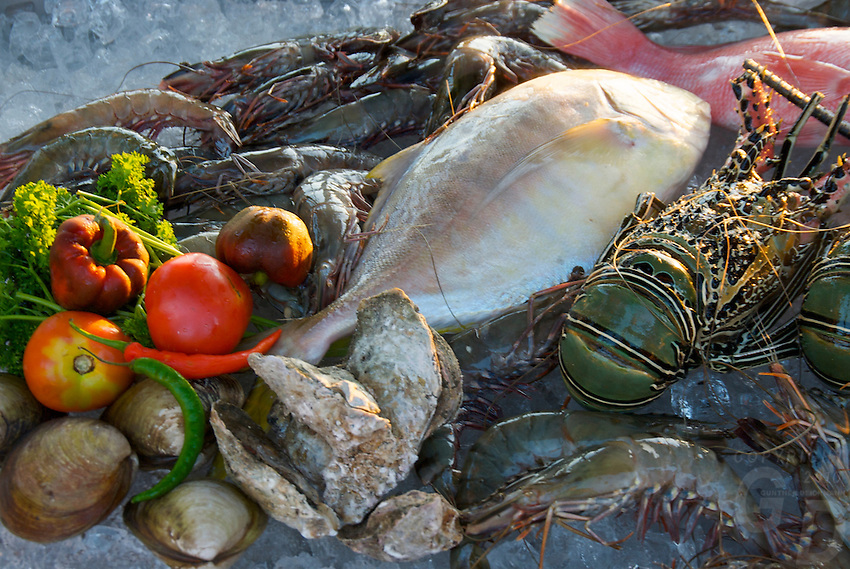 Fresh seafood BORACAY ISLAND PHILIPPINES