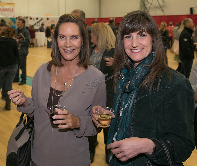 Kelly Werner and Kelly Horgan during the Jack T. Reviglio Cioppino Feed & Auction at the Donald W. Reynolds Facility in Reno on Saturday, February 25, 2017.