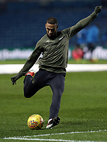 Leeds United's Kemar Roofe during the pre-match warm-up <br /> <br /> Photographer Rich Linley/CameraSport<br /> <br /> The EFL Sky Bet Championship - Leeds United v Reading - Tuesday 27th November 2018 - Elland Road - Leeds<br /> <br /> World Copyright © 2018 CameraSport. All rights reserved. 43 Linden Ave. Countesthorpe. Leicester. England. LE8 5PG - Tel: +44 (0) 116 277 4147 - admin@camerasport.com - www.camerasport.com