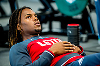Renato Sanches works in the gym during the Swansea City training session at The Fairwood training Ground, Swansea, Wales, UK. Wednesday 13 September 2017