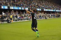 San Jose, CA - Saturday June 24, 2017: Marco Ureña during a Major League Soccer (MLS) match between the San Jose Earthquakes and Real Salt Lake at Avaya Stadium.