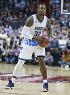 Washington, DC - March 10, 2018: Rhode Island Rams guard Jared Terrell (32) passes the ball during the Atlantic 10 semi final game between Saint Joseph's and Rhode Island at  Capital One Arena in Washington, DC.   (Photo by Elliott Brown/Media Images International)