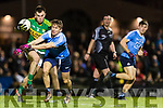 Jack Barry Kerry in action against Michael Fitzsimons Dublin in the National League in Austin Stack park on Saturday night.