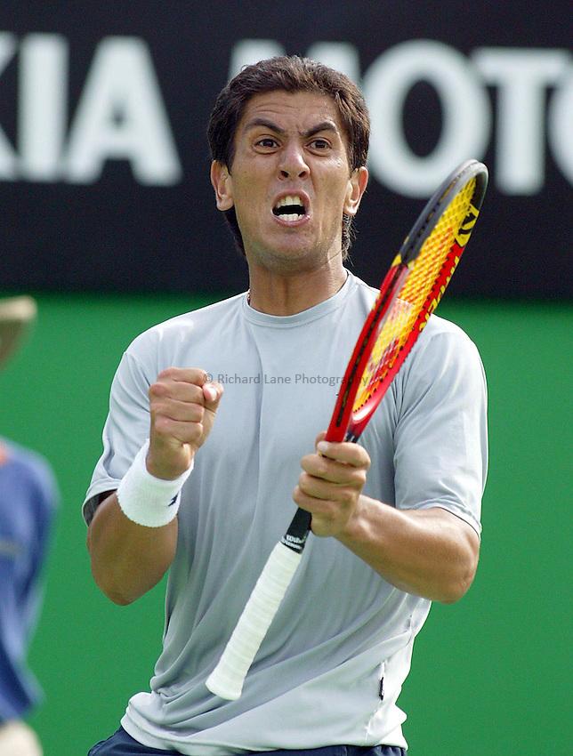 Guillermo Canas, Australian Tennis Open 2004, Melbourne, Australia