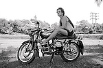 David On Raddoot Motorbike<br /> 10/11/1981
