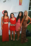 Denise Vasi, Jacquelyn Sherry Coombe, Chloe Flower, Alexandra Slatina Attend Russell Simmons' 12th Annual Art for Life East Hampton Benefit, NY 7/30/11