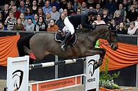 ZUIDBROEK - Paardensport, ICCH Zuidbroek, springen internationaal Grote Prijs , 05-01-2019, Gerco Schroder met Glock's Dobelensky