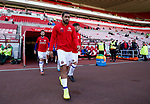 Cameron Carter-Vickers of Sheffield Utd walks out for warm up during the Championship match at the Stadium of Light, Sunderland. Picture date 9th September 2017. Picture credit should read: Simon Bellis/Sportimage