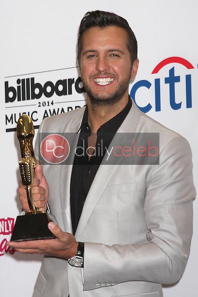 Luke Bryan<br /> at the 2014 Billboard Music Awards Press Room, MGM Grand Hotel, Las Vegas, NV 05-18-14<br /> Dave Edwards/DailyCeleb.com 818-249-4998