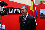 Utrecht and Noord-Brabant will form the official start of La Vuelta together in 2020. Vuelta Director, Javier Guill&eacute;n, informed the Mayor of Utrecht, Jan van Zanen, of this on Monday and the both made the official announcement in Utrecht. The team presentation, the start with a team time trial and the finish of the second stage are to be held in Utrecht in August. The second stage will start in &lsquo;s-Hertogenbosch, while all of the third stage will cover the Province of Noord-Brabant, starting and finishing in Breda. Utrecht, Netherlands. 12th December 2018.<br /> Picture: Unipublic/Menno Ringnalda | Cyclefile<br /> <br /> <br /> All photos usage must carry mandatory copyright credit (&copy; Cyclefile | Unipublic/Menno Ringnalda)