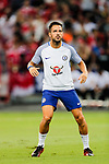 Chelsea Midfielder Cesc Fabregas warming up during the International Champions Cup match between Chelsea FC and FC Bayern Munich at National Stadium on July 25, 2017 in Singapore. Photo by Marcio Rodrigo Machado / Power Sport Images