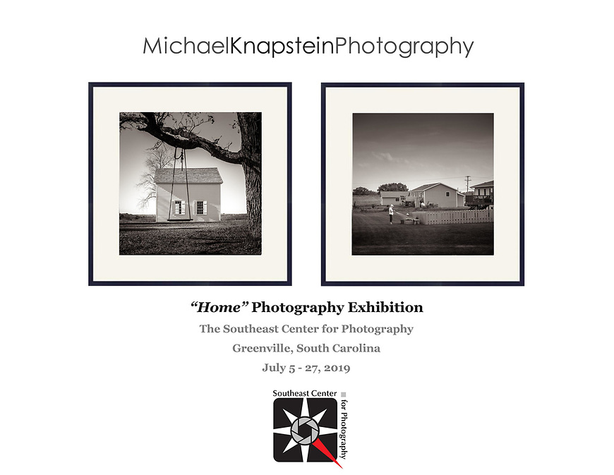 Two photographs by Michael Knapstein were selected for an international juried exhibition at the Southeast Center for Photography in Greenville, South Carolina.
