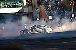 #10 Aric Almirola  during NASCAR's Burnout Blvd. Driven By Goodyear