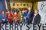 Dermot Twomey gives a Lecture to the  Kerry Women Writers' Network on Mary Downing, Kerry Lost  poet at the Kerry Library on Thursday. Pictured members of KWWN with Dermot Twomey and KWWN member Claire O'Mahony who recited Christabel's poetry