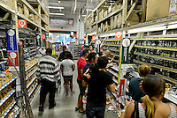 MIRAMAR, FL - OCTOBER 06: South Florida residents prepare for Hurricane Matthew at Home Depot on October 6, 2016 in Miramar, Florida. The hurricane is expected to make landfall sometime this evening or early in the morning as a possible category 4 storm.Credit: MPI10 / MediaPunch